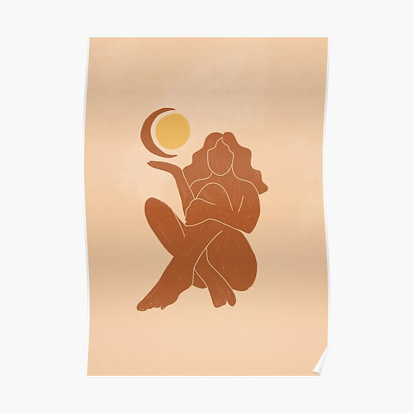 The Sun, The Moon and a Woman Poster