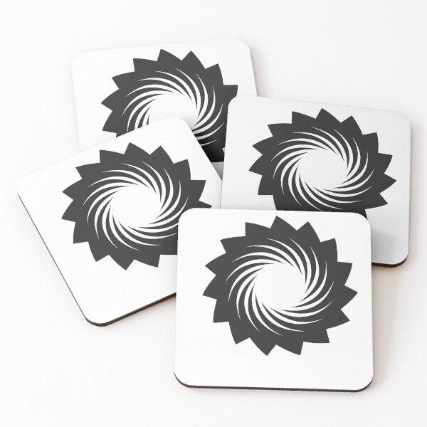 Blackhole Swirl Coasters (Set of 4)