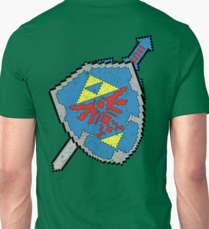 8-Bit Master Sword and Shield T-Shirt