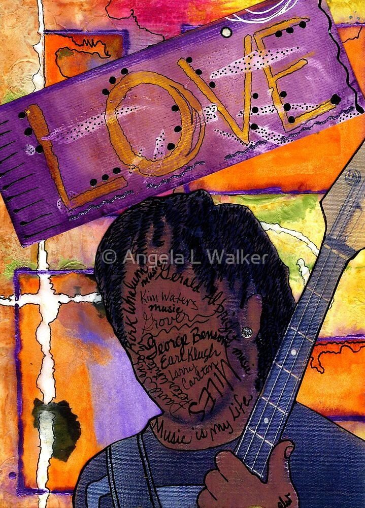 Music Man by © Angela L Walker