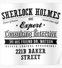 Sherlock Holmes Expert Poster