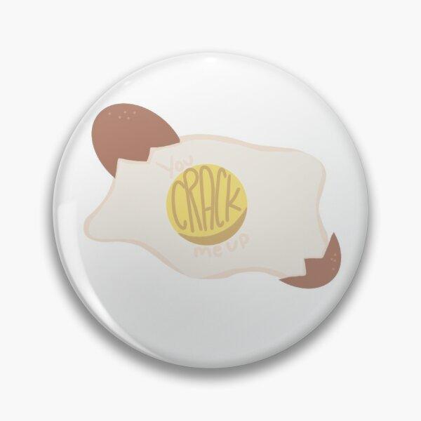 Jeu de mots œuf-cellent (Egg Pun) Badge