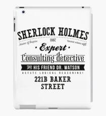 Sherlock Holmes Expert iPad Case/Skin