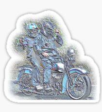 Harley Davidson WL Sticker