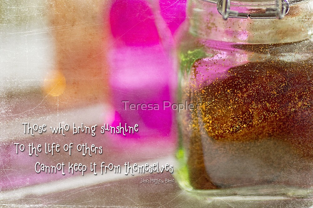 Sunshine and Spice by Teresa Pople