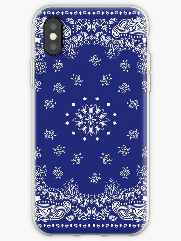 various colors b728e a302d 'Blue Bandana ' iPhone Case by FreeGoosie