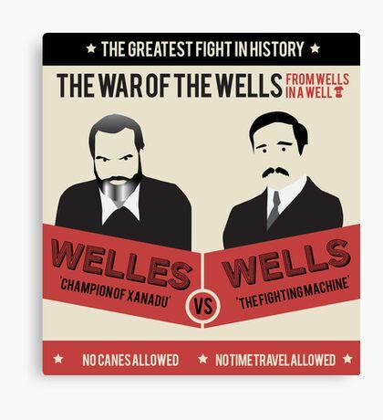 War of the wells Canvas Print