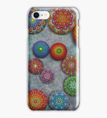 Mandala Stone Spiral iPhone Case/Skin