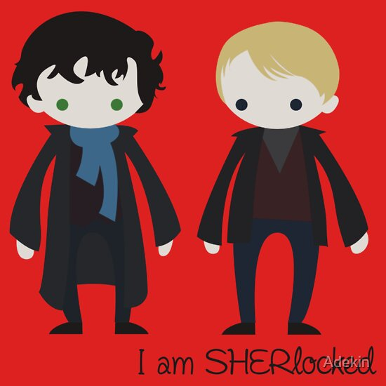 TShirtGifter presents: I am SHER-locked