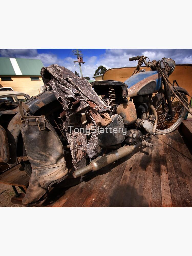 Rusty Old Motorbike by TonySlattery
