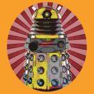 Cartoony Dalek by Sjoerd1201
