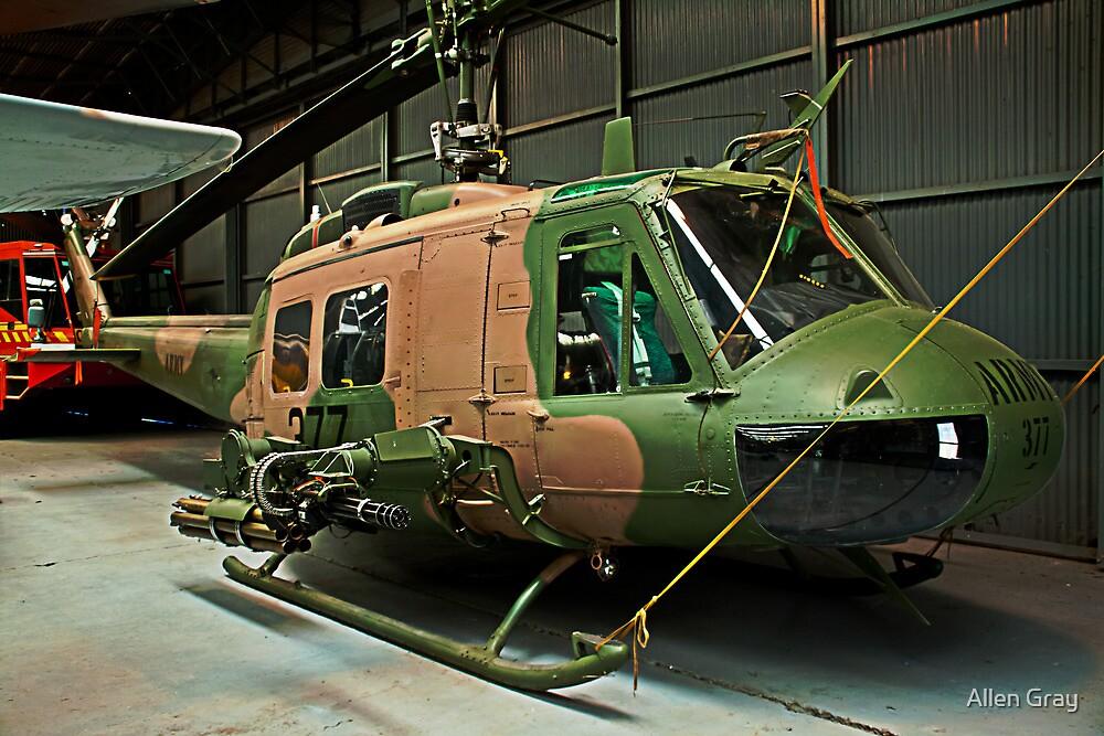 UH-1 Bushranger by Allen Gray