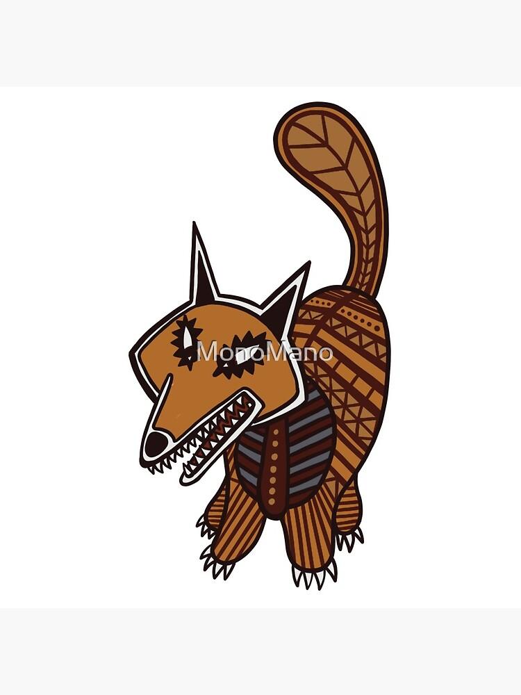 The Fox - Watership Down Fan Art by MonoMano