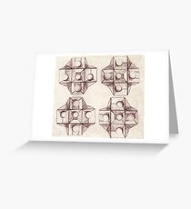 Conceptual Abstract Greeting Card