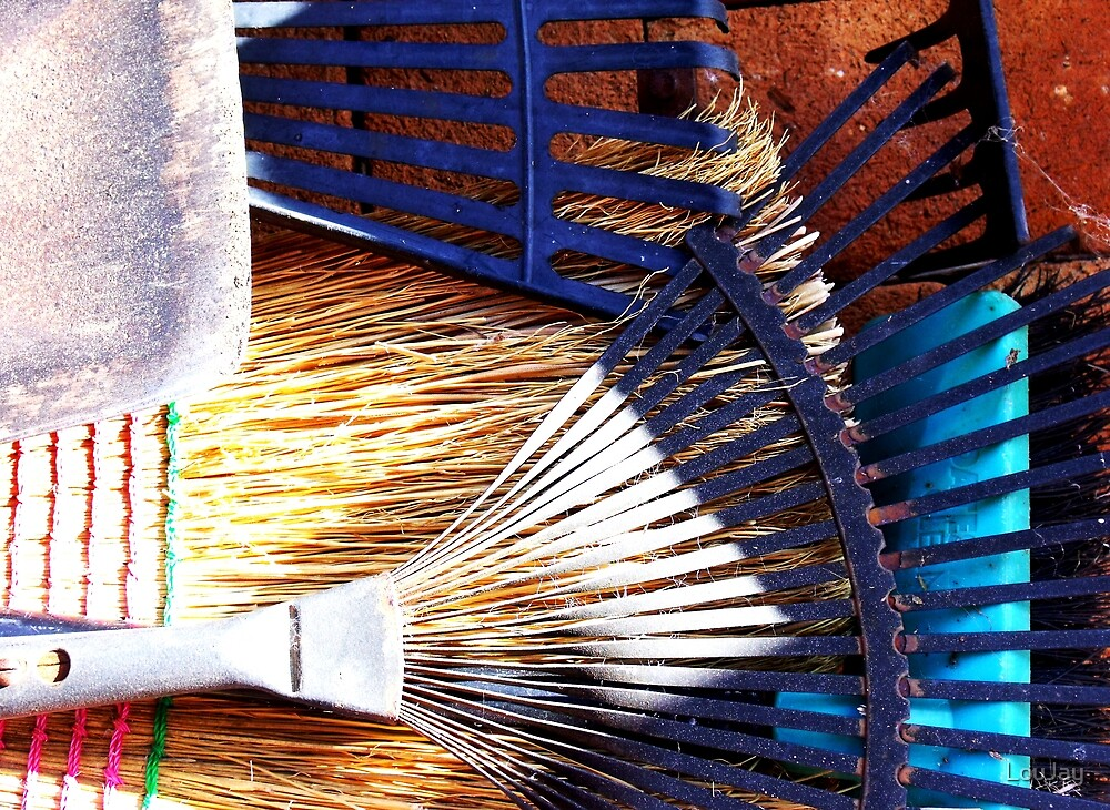 teeth, tines, bristles and blades by LouJay