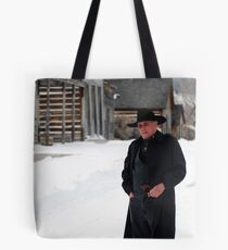 """""""Ghost of a ghost town"""" Tote Bag"""