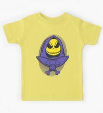 Skellingtor (sticker and light shirts) Kids Tee