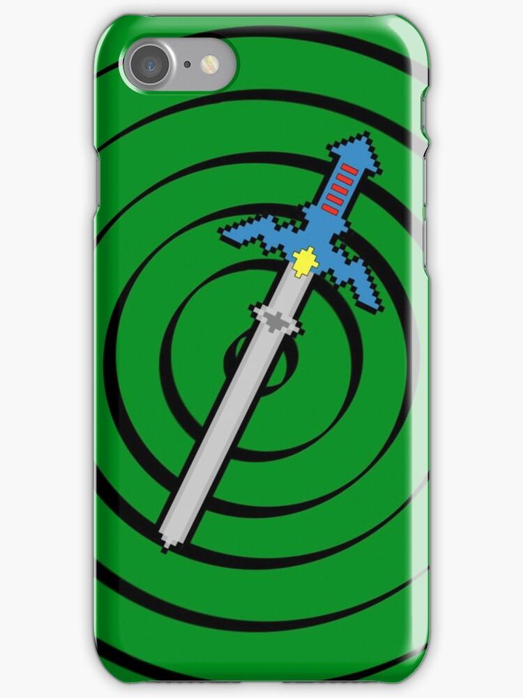 8-Bit Master Sword by WUVWA