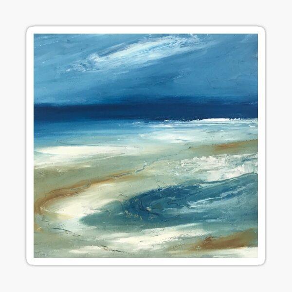 Shifting Sands // seascape Sticker