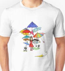 Rain in NYC Unisex T-Shirt