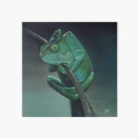 Pascal the Chameleon  Art Board Print