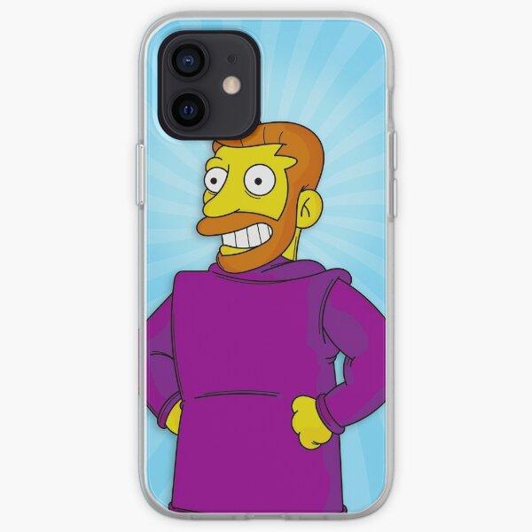 Hank Scorpio, Backwards Coat Blue - Simpsons iPhone Soft Case