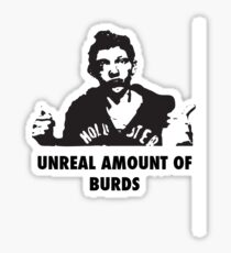 UNREAL amount of Burds Sticker