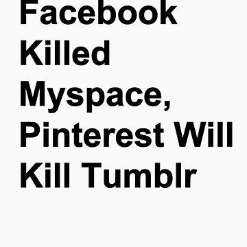 Pinterest kills Tumblr by saintjay