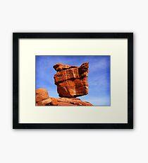 Balanced Rock, Garden of the Gods Framed Print