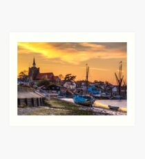 Maldon Sunset Art Print