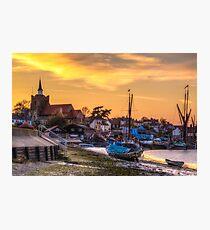 Maldon Sunset Photographic Print