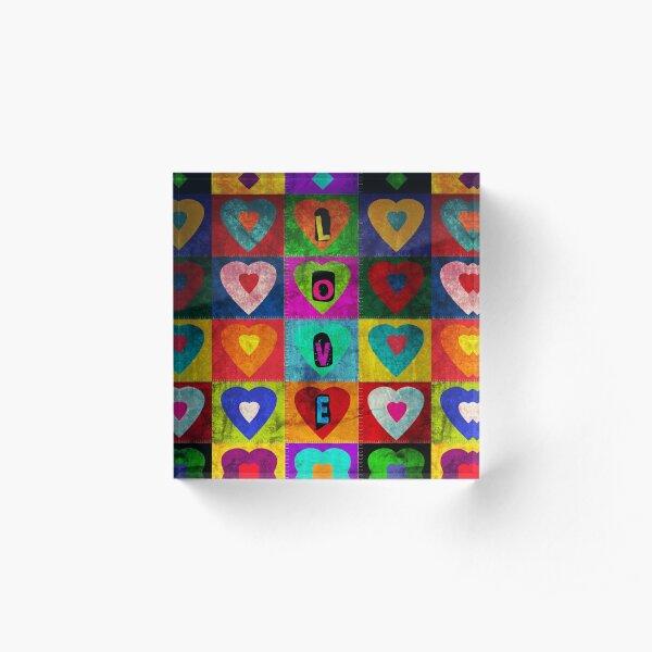 Much loved Acrylic Block