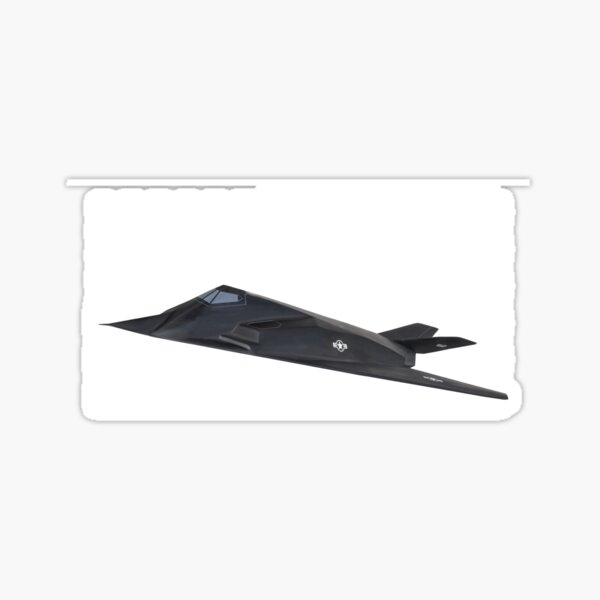 F-117 PILOT sticker decal NIGHTHAWK Lockheed Aviator Stealth Plane Jet Aircraft