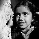 Girl portrait III by Mark Smart