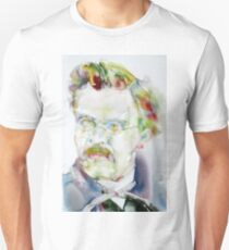 FRIEDRICH NIETZSCHE watercolor portrait.6 Unisex T-Shirt
