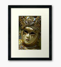 Venetian carnival Framed Print