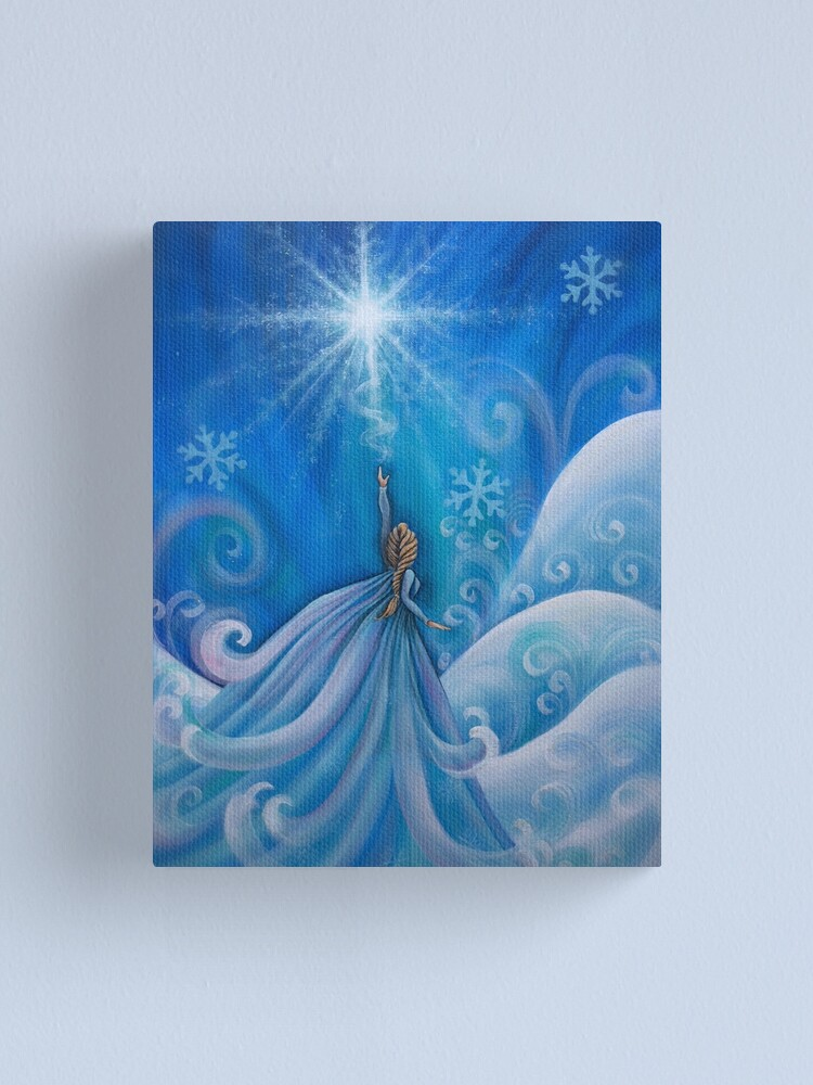 Alternate view of Let It Go Canvas Print
