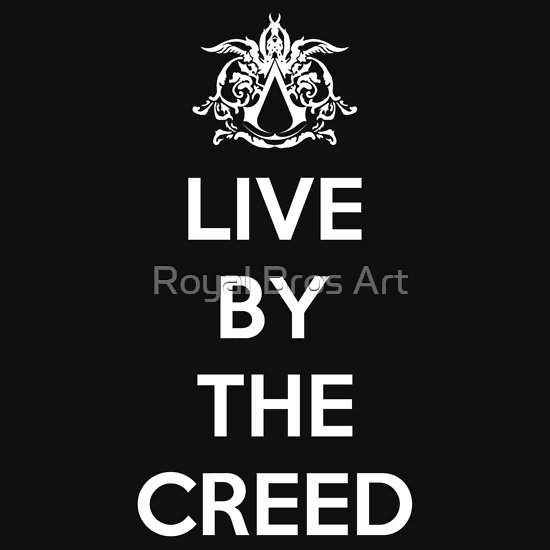 TShirtGifter presents: Live By The Creed T-Shirt