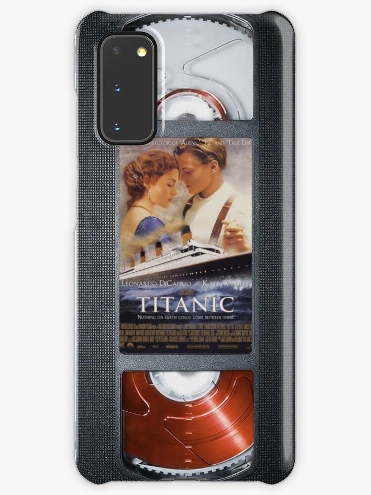 Titanic Vhs Cassette Tape Iphone Case Case Skin For Samsung Galaxy By Abricotti Redbubble