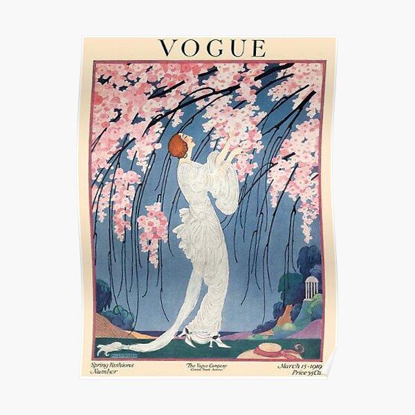 couverture vogue vintage - 1918 Poster