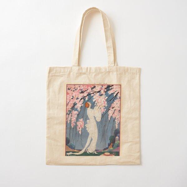 vintage vogue cover - 1918 Cotton Tote Bag