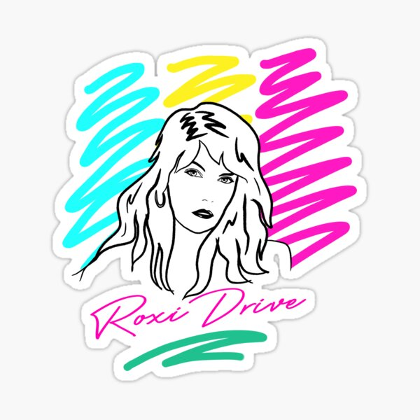 Roxi Drive Sketch 2 Sticker