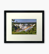 Iguassu Falls - First View Framed Print