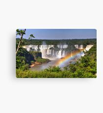 Iguassu Falls - First View Canvas Print