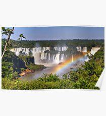 Iguassu Falls - First View Poster