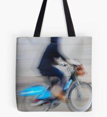 Boris Bikes ( Blurred Series) Tote Bag