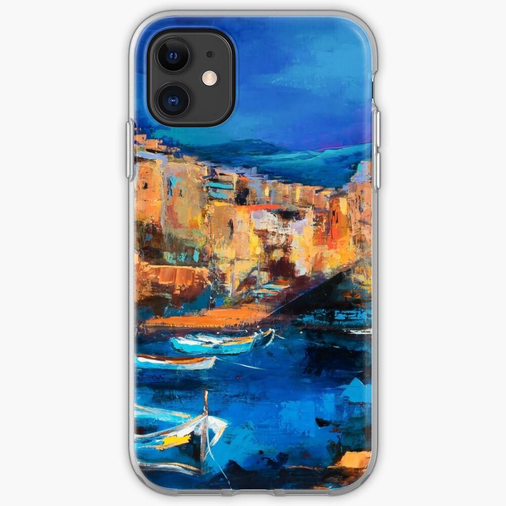 coque iphone 8 medieval village
