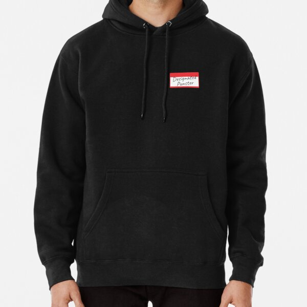 Designated Punster Slim Fit T-Shirt Pullover Hoodie