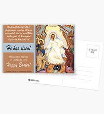 "Orthodox Icon of the ""Resurrection of Jesus"" Postcards"