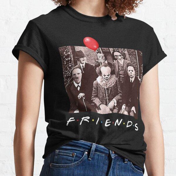 Amigos del equipo de Halloween Horror Camiseta clásica